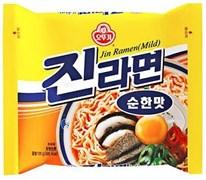 "Лапша ""Jin Ramen"" со вкусом грибов, 120гр (мягк.уп)"