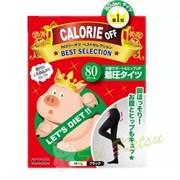 """Колготки для похудения размер M~L, 80DEN, черные TRAIN """"Calorie OFF"""""""