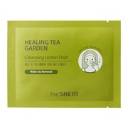 Диски хлопковые очищающие The Saem Healing Tea Garden Cleansing Cotton Pads