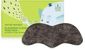 Полоска для очищения пор носа Nature Republic Blackhead Clear Nose Pack