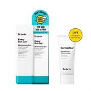 Экстраувлажняющий солнцезащитный крем для лица Dr.Jart+ Every Sun Day Moisturizing Sun SPF 50+/PA++++  + очищающая пенка для умывания 30мл