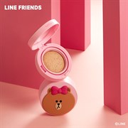 Кушон MISSHA (Line Friends Edition) Glow Tension Cushion 15g #Vanilla