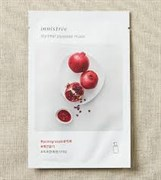 Маска для лица с соком граната Innisfree My real squeeze mask - pomegranate