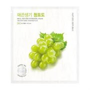Гидрогелевая маска с зеленым виноградом Nature Republic Real Nature Green Grape Hydro Gel Mask