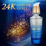 Эссенция с минералами и частицами 24к золота Elishacoy 24K Gold Mineral Luxury Gold Essence 40ml