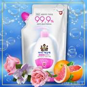 Жидкое мыло для рук LION Ai - Kekute Свежий грейпфрут, с антибактериальным эффектом, зап. блок, 200 мл