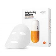 Премиум-маска для выравнивания тона лица Dr. Jart+ Dermask Brightening Solution Ultra-Fine Microfiber Sheet Mask